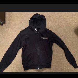 Jackets & Coats - Women's Maroon 5 zip up jacket size Medium